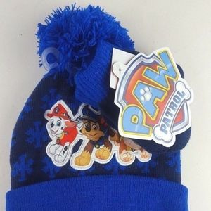 Paw Patrol Nickelodeon Kids boys Hat and 1 Pairs